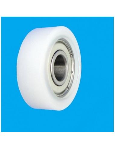 Plastikinis 25mm diametro ratukas su...