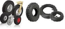 Ratai ir ratukai su pneumatinėmis padangomis