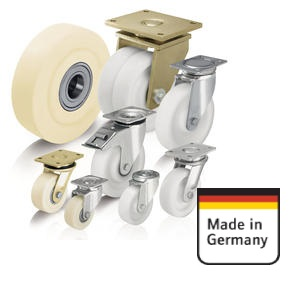 Didelės apkrovos nailoniniai ratai ir ratukai